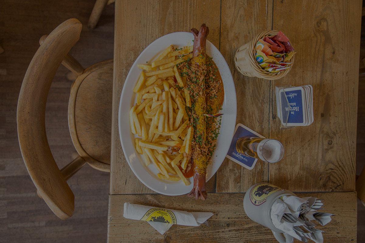 Speisen und Getränke